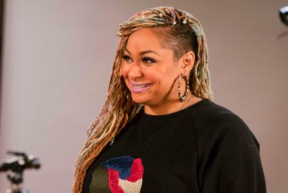 Raven Symone Asked If She Would Host Along Cheetah Girls Co-Star On The Real -- See Her Reaction