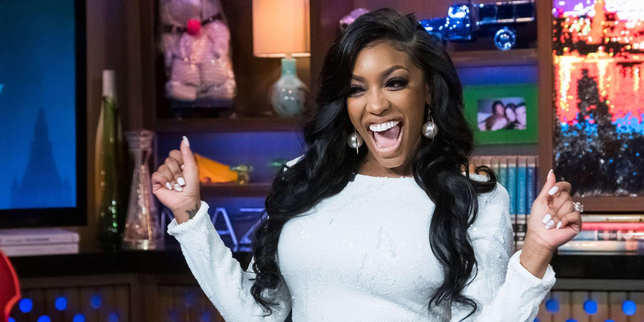 Porsha Williams Shows Off Her Natural Hair And Fans Ask If She's Using Kenya Moore's Hair Products
