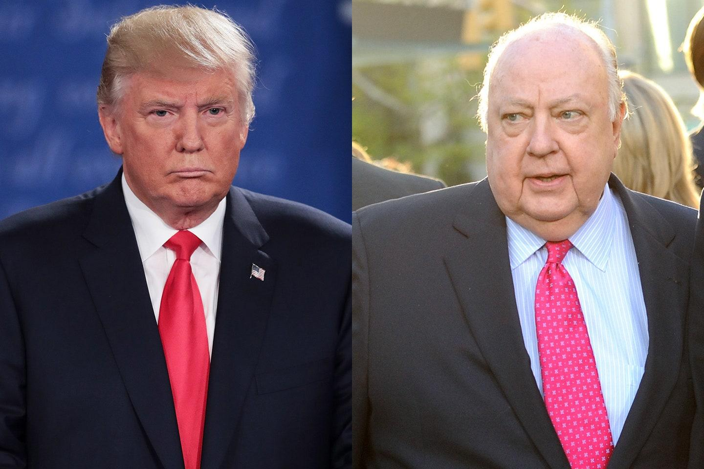 Donald Trump Mocked By Social Media Users After Seemingly Forgetting His Friend And Fox CEO Roger Ailes Is Dead!