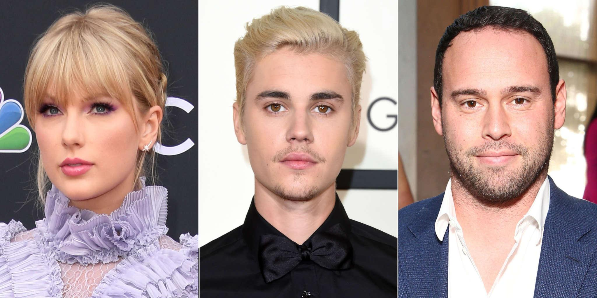 Scooter Braun Seems To Troll Taylor Swift By Teasing Justin Bieber Album Just Hours After She Announces Surprise Album Release!