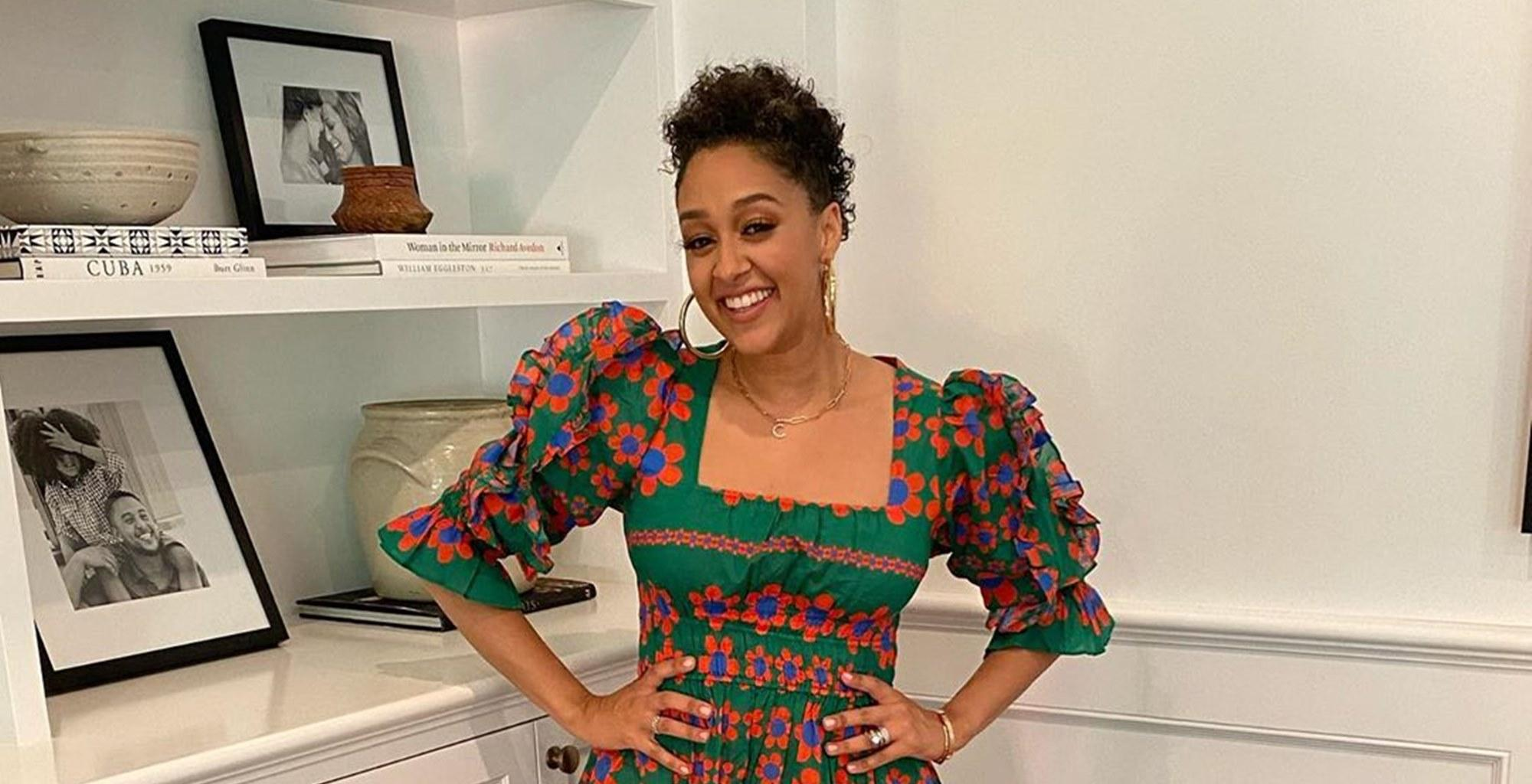 Tia Mowry-Hardrict And Her Daughter Rock Matching Bathing Suits In The Coolest Photo Ever