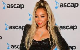 Tiny Harris Gushes Over LaTocha On Stage - See Her Video