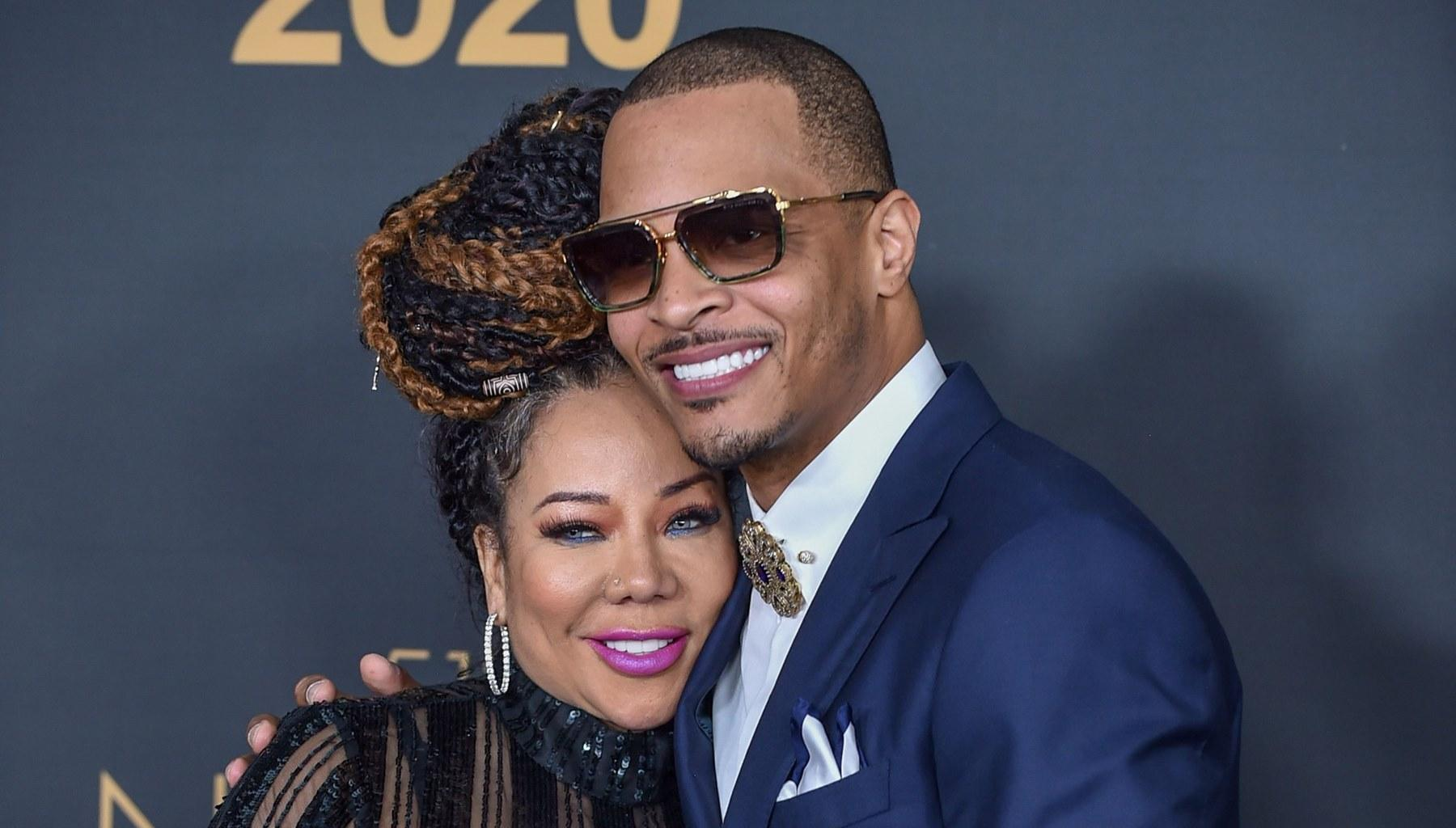 T.I. Is Criticized For These Photos With Tiny Harris
