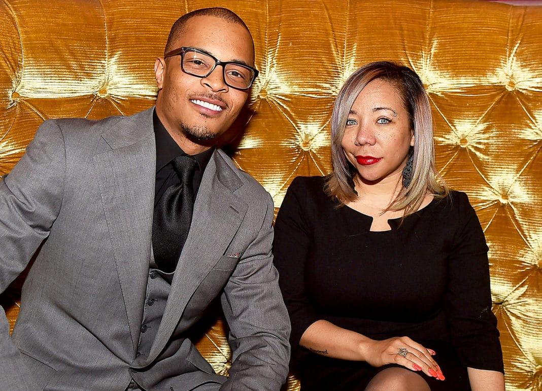 Tiny Harris And T.I. Commemorate George Floyd - See Her Message