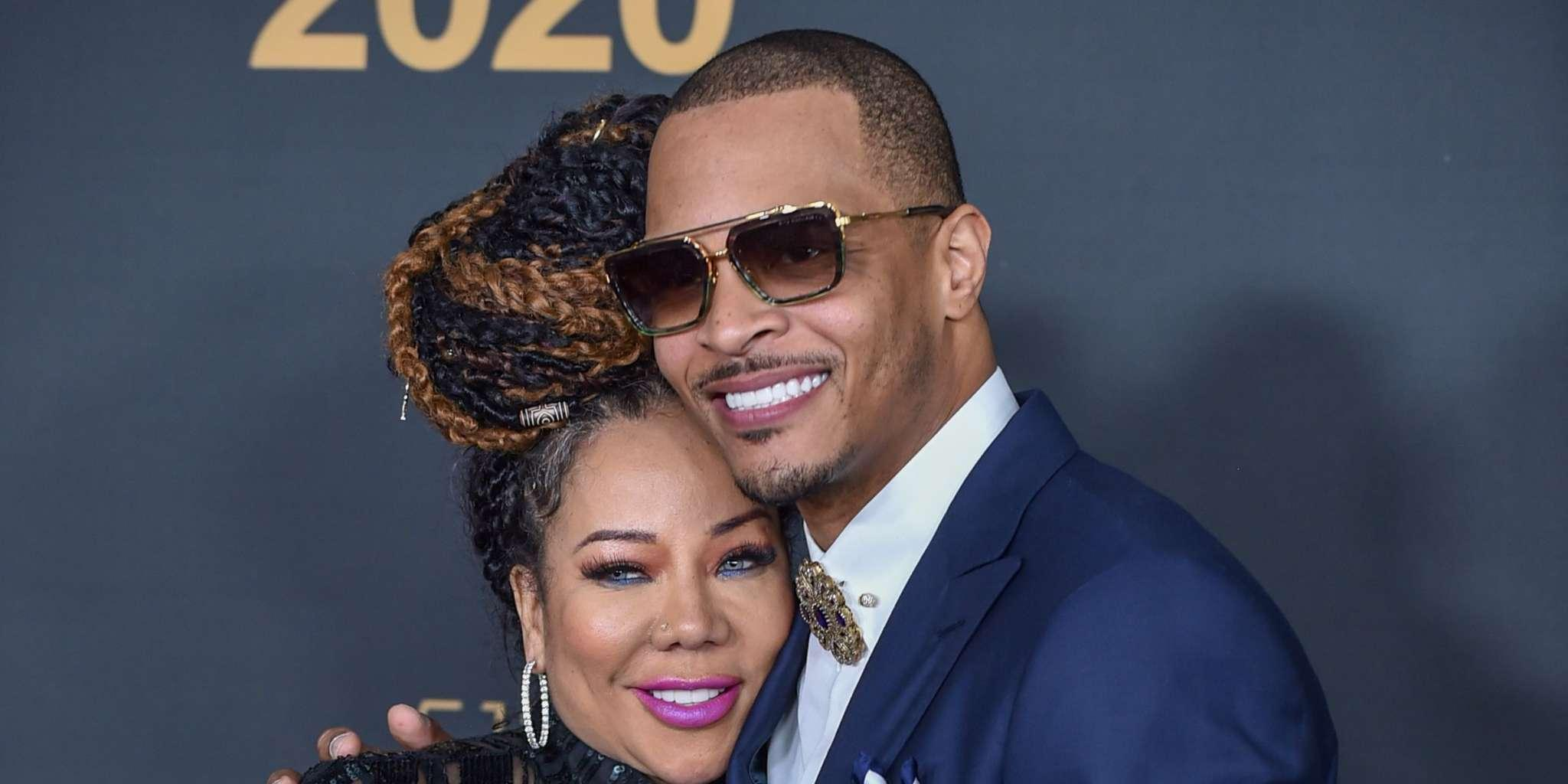 Tiny Harris Shares A Romantic Message For T.I. For Their Anniversary