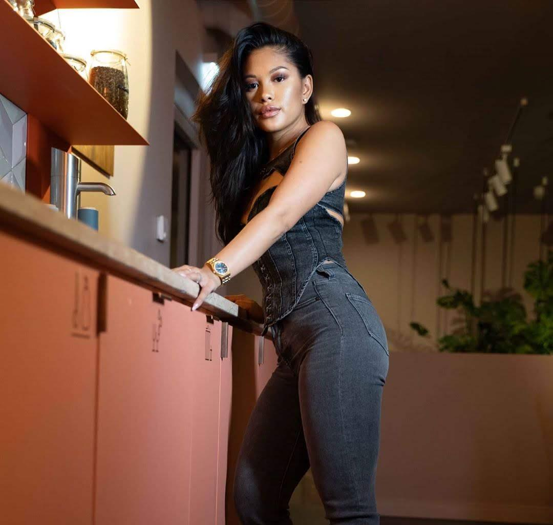 Ammika Harris Impresses Fans With Her Natural Beauty - See Her Latest Video