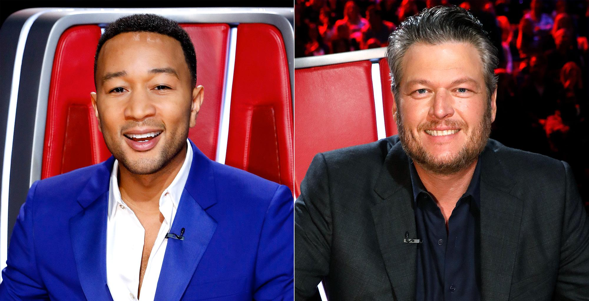 Blake Shelton And John Legend Can't Wait To Have Fun Teasing Each Other On The Voice, Source Says - Details!