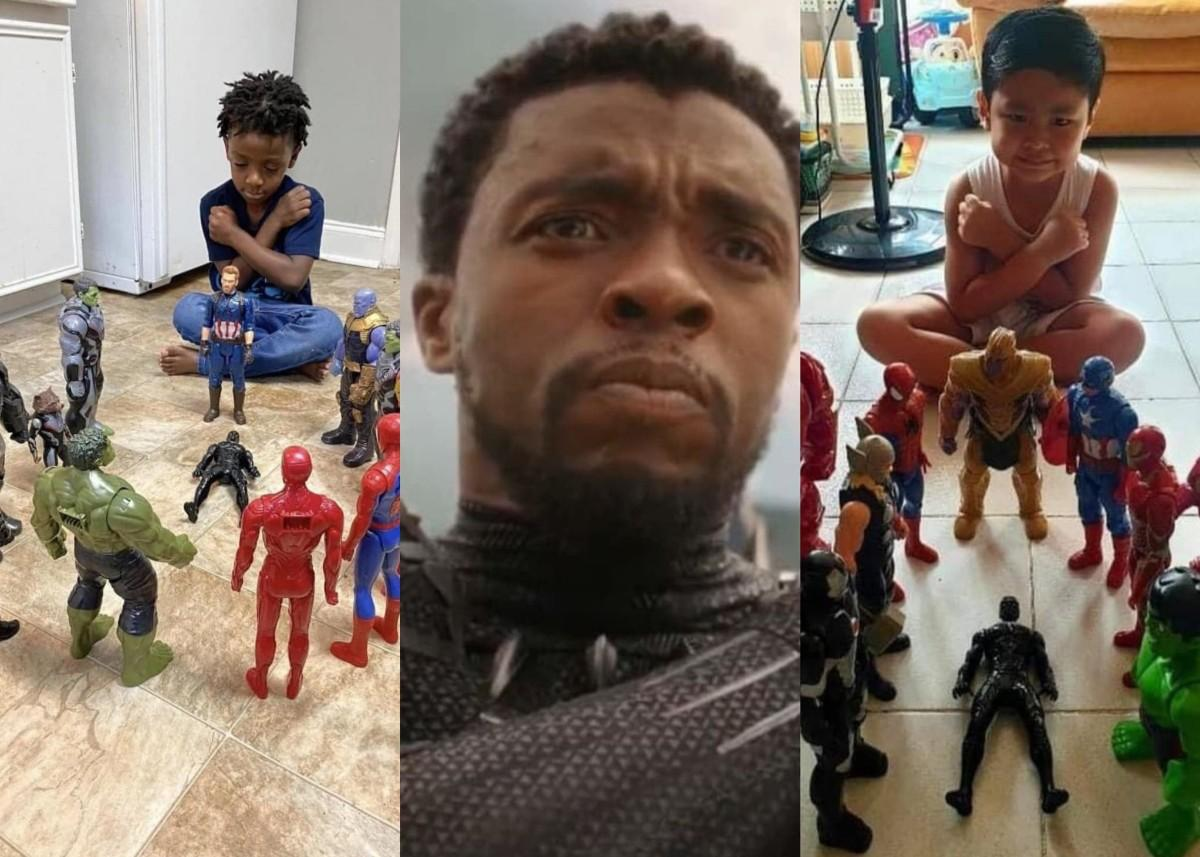 Mark Ruffalo Shares Photos Of Children Paying Tribute To Chadwick Boseman As Black Panther With Action Figures — See The Touching Pics Here