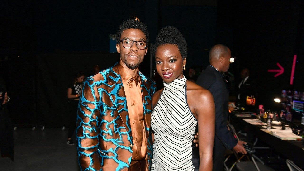 Danai Gurira Honors Chadwick Boseman In The Most Touching Way!