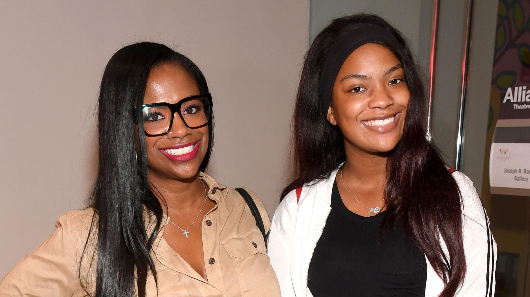 Kandi Burruss Shares A Gorgeous Photo Of Blaze Tucker And Sister, Riley Burruss Post-Op, But Blocks Haters From Criticizing Her Daughter's Cosmetic Surgery
