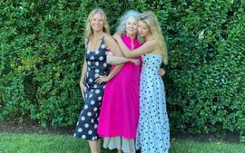 Gwyneth Paltrow, Blythe Danner, And Apple Martin Wear Goop Label In Stunning Generations Photo