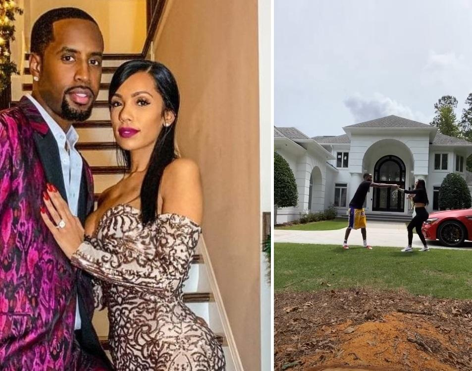 Safaree And Erica Mena Share Cute Video With Their Baby