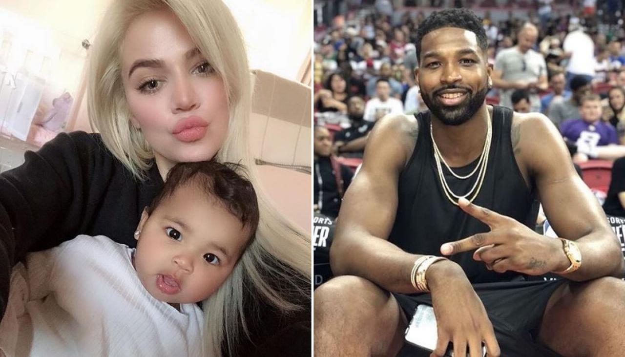Tristan Thompson Poses With His And Khloe Kardashian's Daughter, Calling Her 'Twin' - People Criticize Him For This Reason