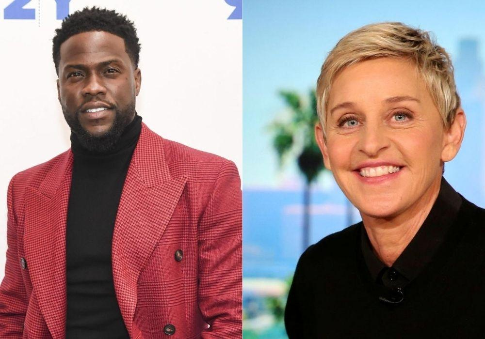Ellen DeGeneres And Kevin Hart Spotted Having Lunch Together Amid Workplace Misconduct Claims