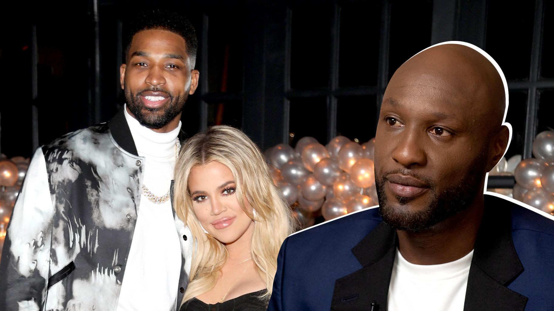 KUWTK: Lamar Odom Wishes Khloe Kardashian Nothing But Happiness If She And Tristan Thompson Are Truly Dating Again!