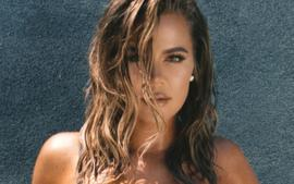 Khloe Kardashian Stuns In Two-Piece Bathing Suit As Scott Disick Says Tristan Thompson Is A 'Lucky Man'