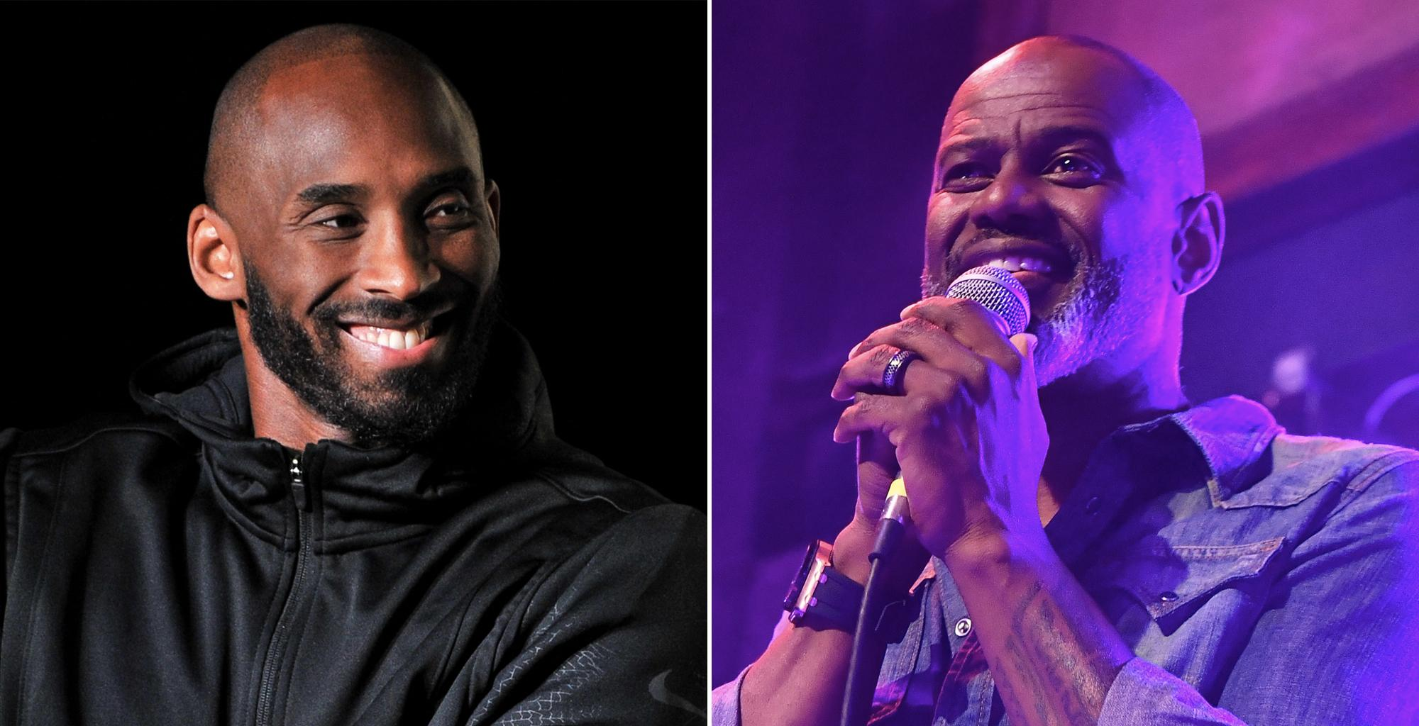 Brian McKnight Says Kobe Bryant Had The Potential To Become A Big Rapper - Here's Why!