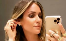 Kristin Cavallari Glows In Uncommon James And Urban Outfitters Gold Dress