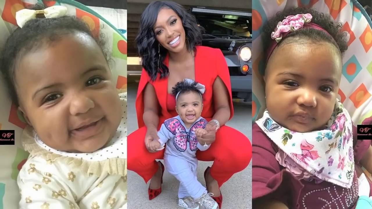 Dennis McKinley And Porsha Williams' Baby Girl, Pilar Jhena Playing Will Make Your Day - See The Clips