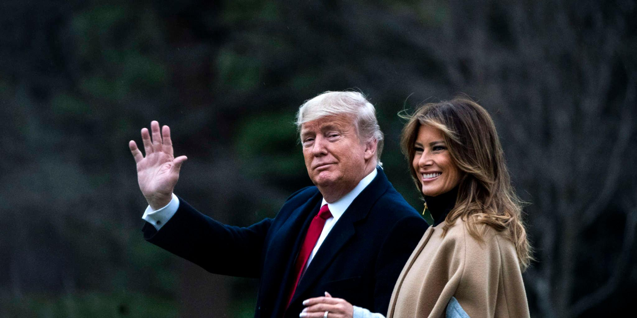 Melania Trump Avoids Holding Donald Trump's Hand Multiple Times In New Video!