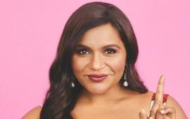 Mindy Kaling Is Glowing In One Shoulder, Diana Dress