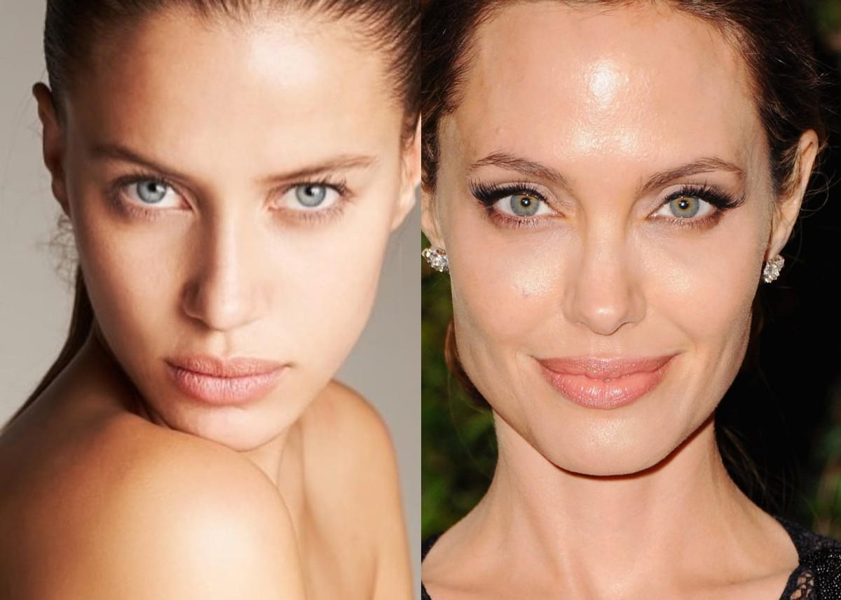 People Think Brad Pitt's Rumored Girlfriend Nicole Poturalski Looks Like A Young Angelina Jolie — See The Photos!