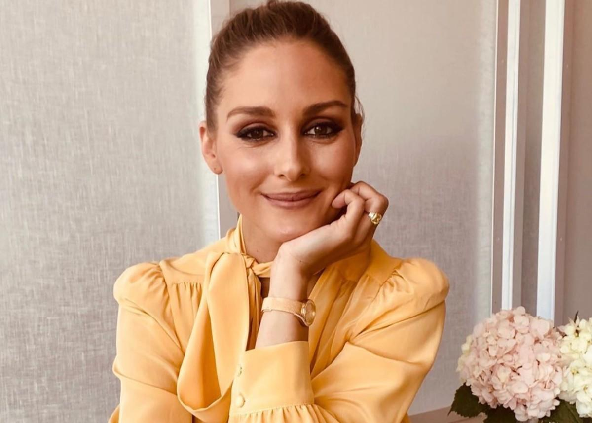 Olivia Palermo Pairs Lace Bra With Blazer From Her Fashion Line For A Chic And Stunning Look