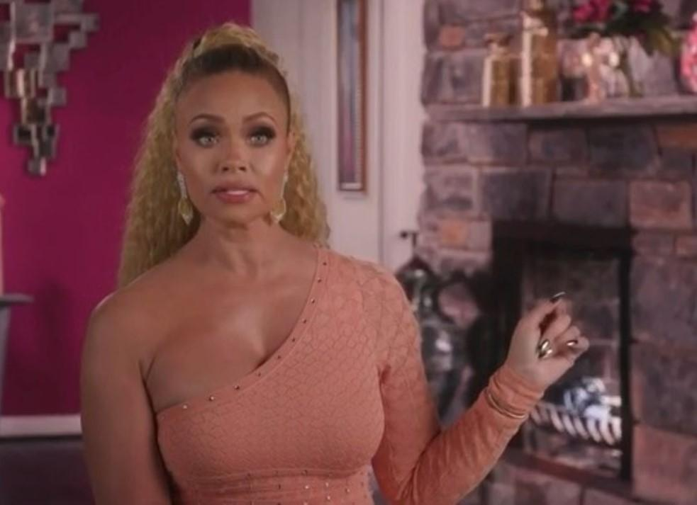 'RHOP' Candiace and Gizelle Fight At Karen's Housewarming Party