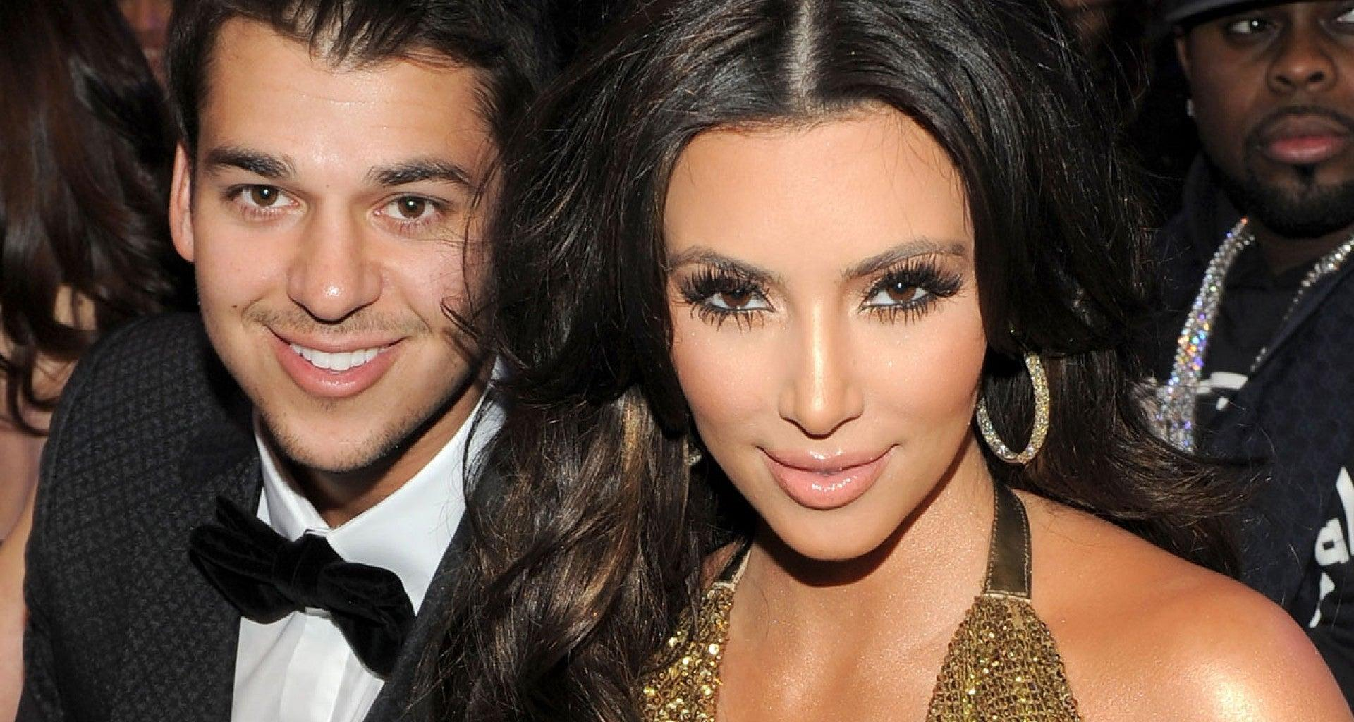 KUWTK: Rob Kardashian Tells Sister Kim To 'Stop Playing' Because Of This Hot Post Of Her Posing With North's Dog - Check It Out!
