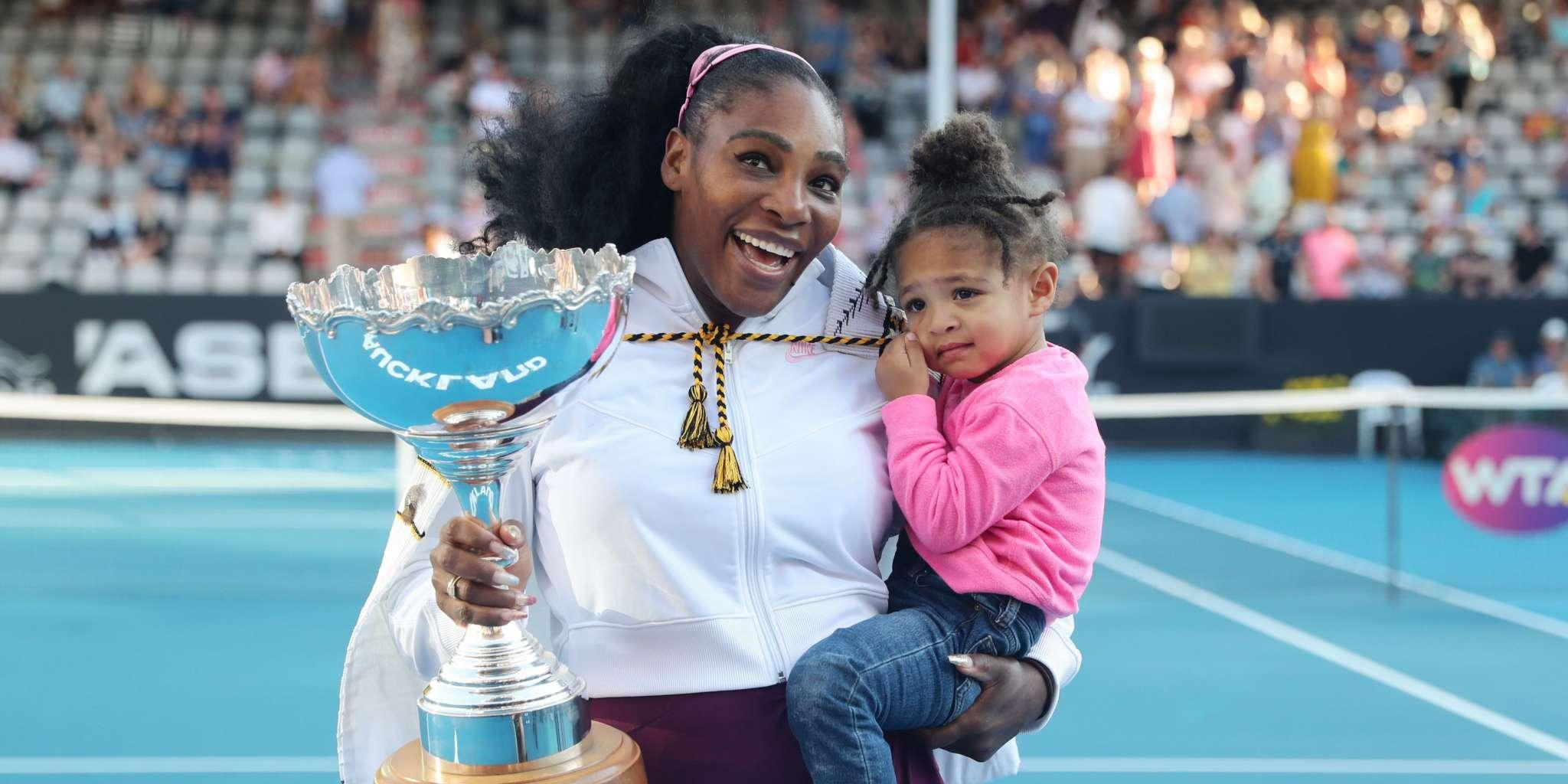 Serena Williams Proves She And 2-Year-Old Daughter, Olympia, Wear 'The Same Size' By Trying On The Toddler's Top In This Funny Video!
