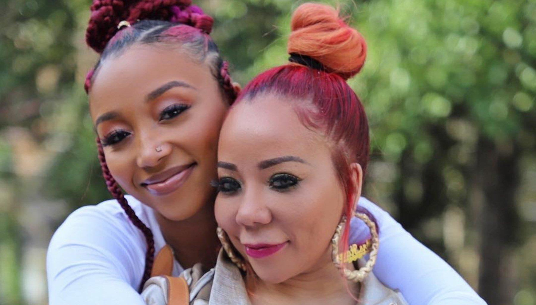 Tiny Harris Gushes Over Her Daughter, Zonnique Pullins