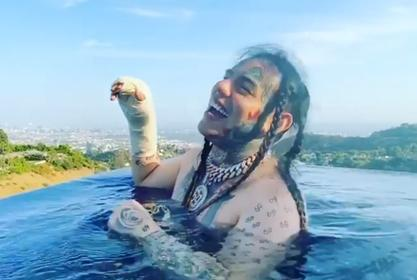 """Tekashi 6ix9ine Tells Haters """"Don't Even Bother,"""" They Won't Be Able To Locate Him In """"His City,"""" Los Angeles"""