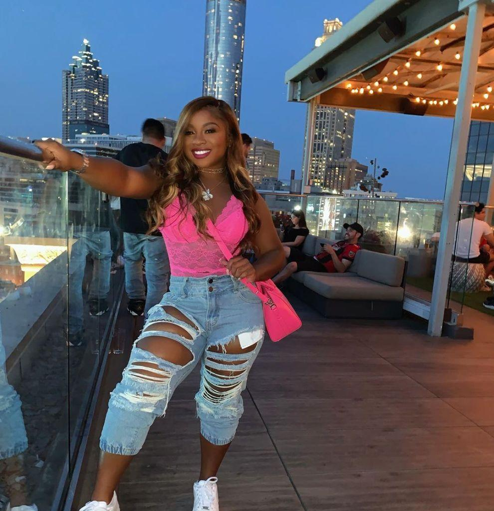 Reginae Carter Puts Her Curves On Display In This Skin-Tight Outfit And Fans Are Here For It