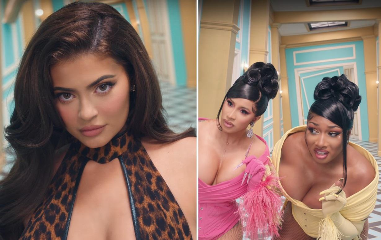 Kylie Jenner Makes Racy Cameo In Cardi B And Megan Thee Stallion's 'WAP' Music Video - Watch Them All Here!