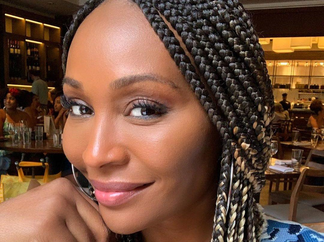 Cynthia Bailey Shows Fans A Surprise She Got From One Of Her Favorite Artists