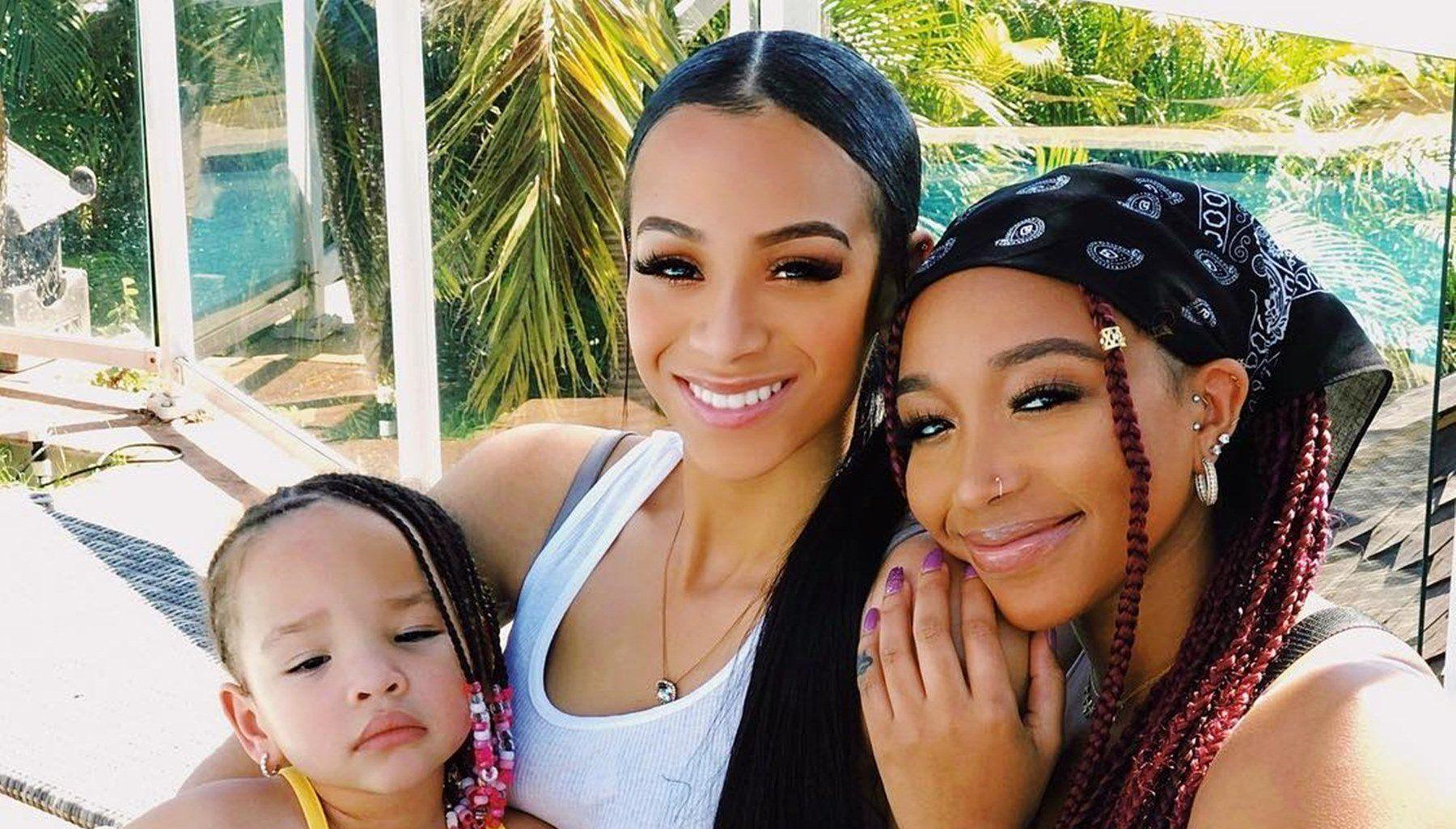 Tiny Harris Shows Off Her Beauty Queens For The National Daughters Day