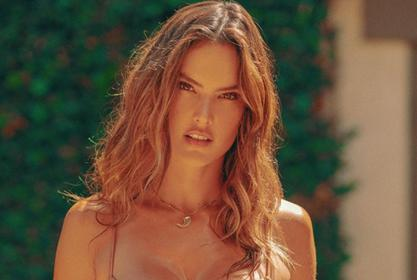 Alessandra Ambrosio Showcases Her Curves In Gal Floripa Two Piece Bathing Suit