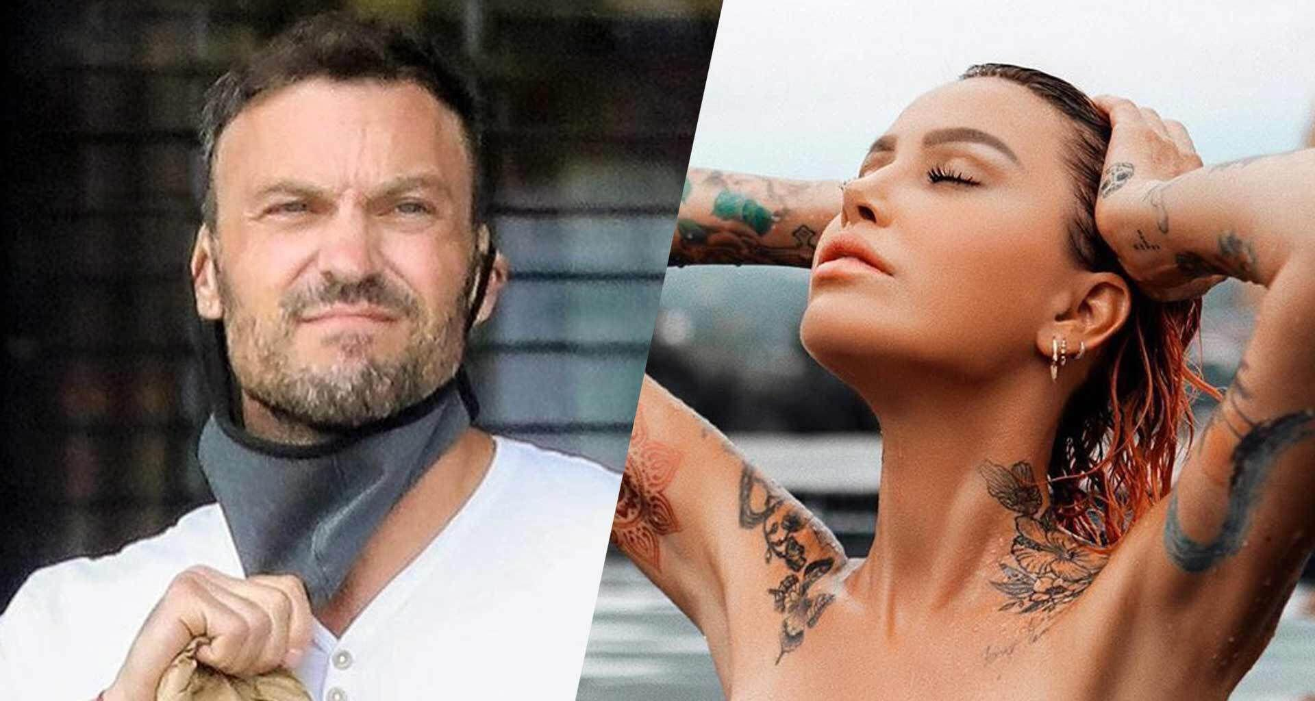 Brian Austin Green: Hanging Out With Fling Tina Louise Reportedly 'Makes Him Happy' - Here's Why!