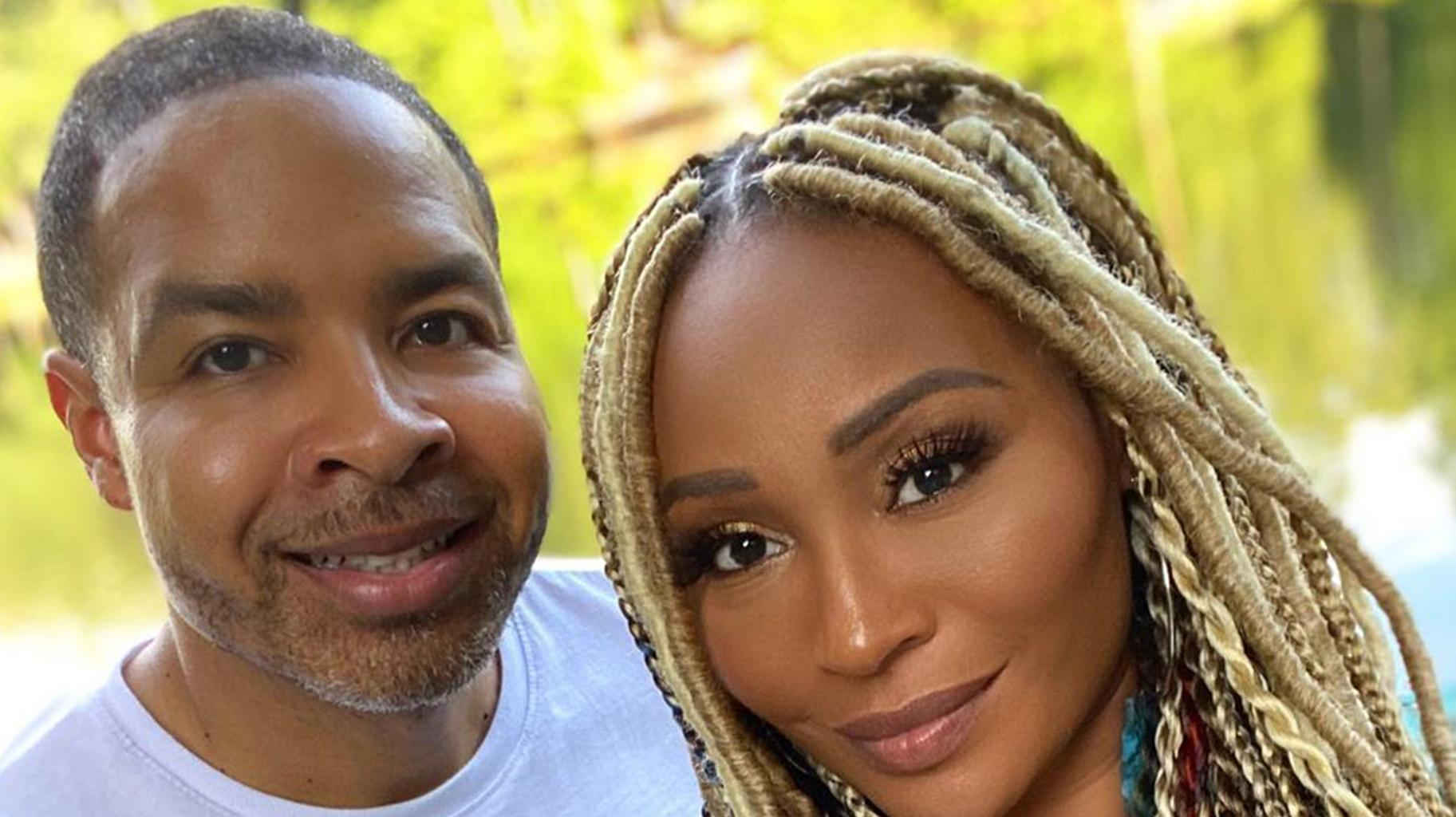 Cynthia Bailey Looks Gorgeous In This White Dress Together With Mike Hill - See The Photos