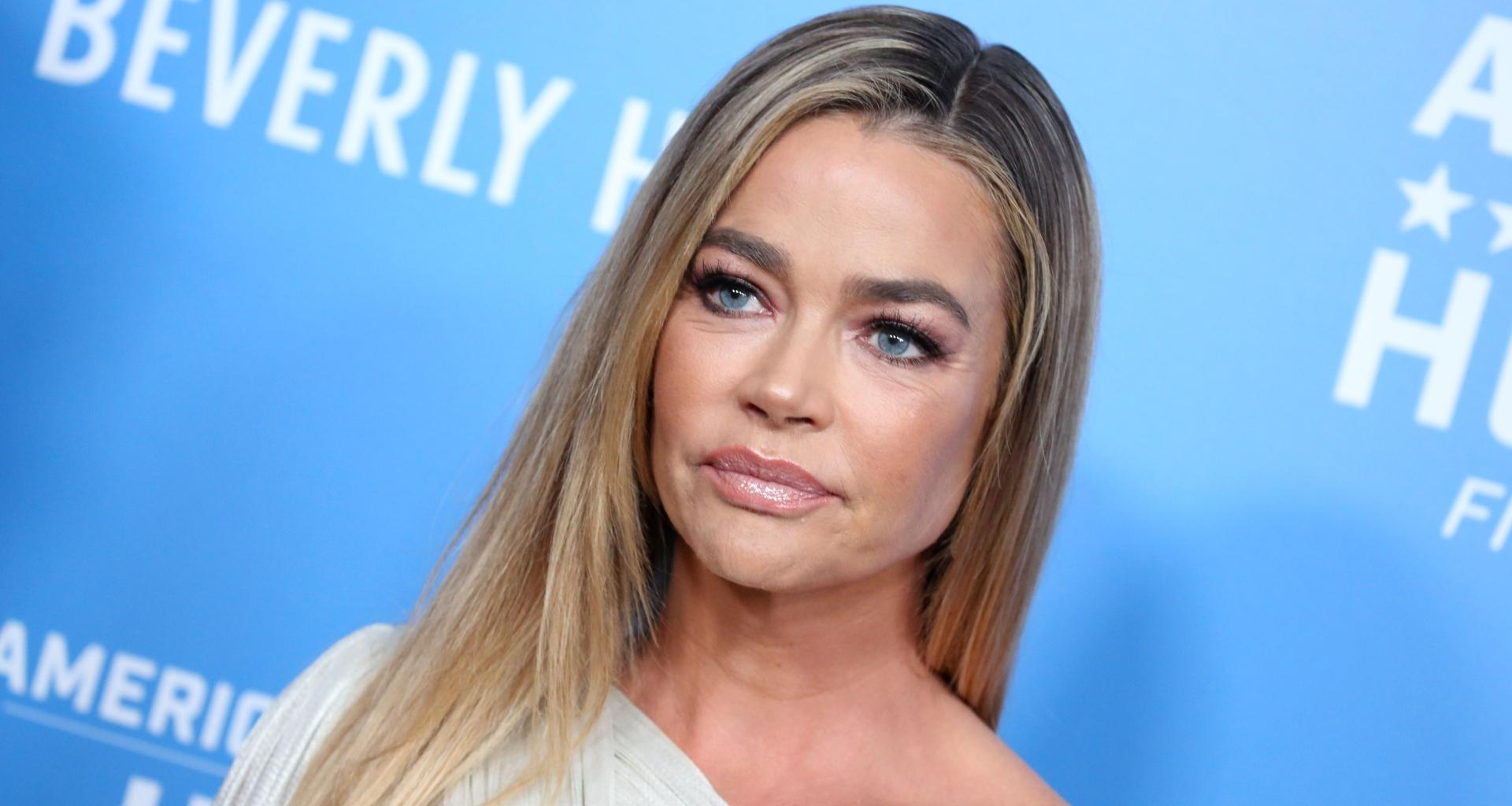 Denise Richards Explains Why Her Eyes Were Red At The RHOBH Reunion -- She's Not On Drugs