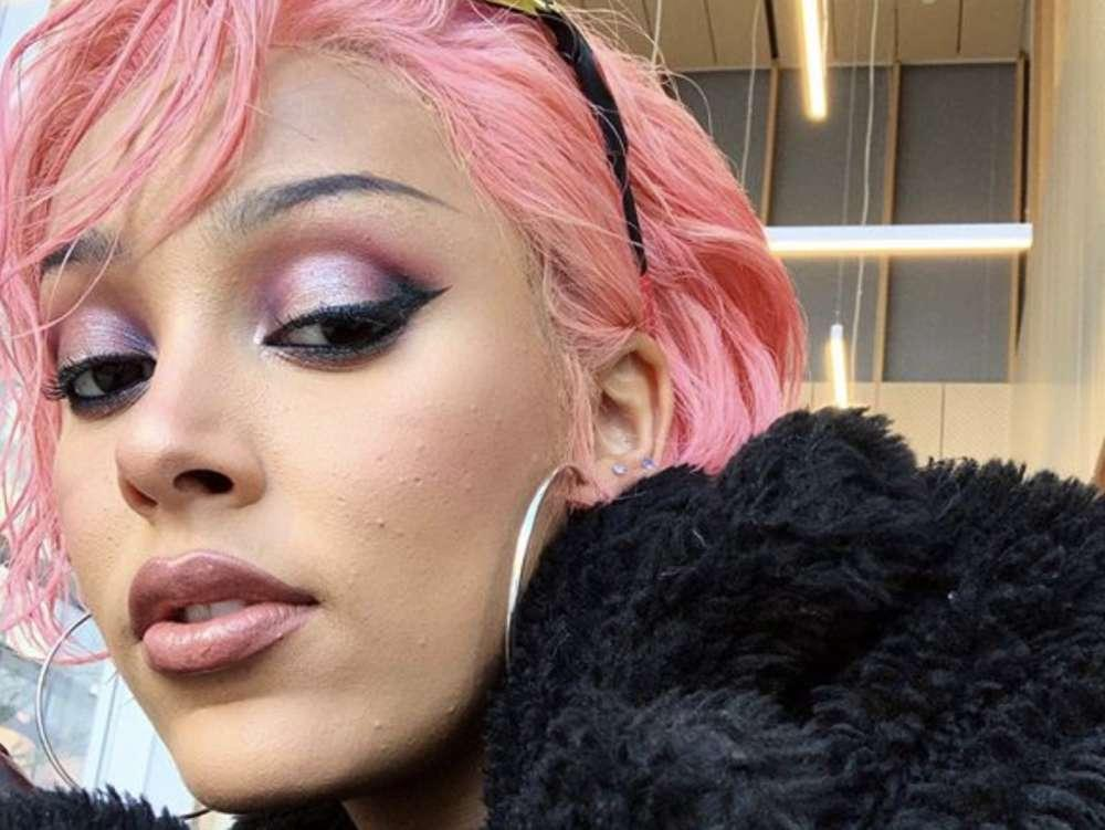 Doja Cat Denies Rumors Of Collaboration With Nicki Minaj And Ariana Grande