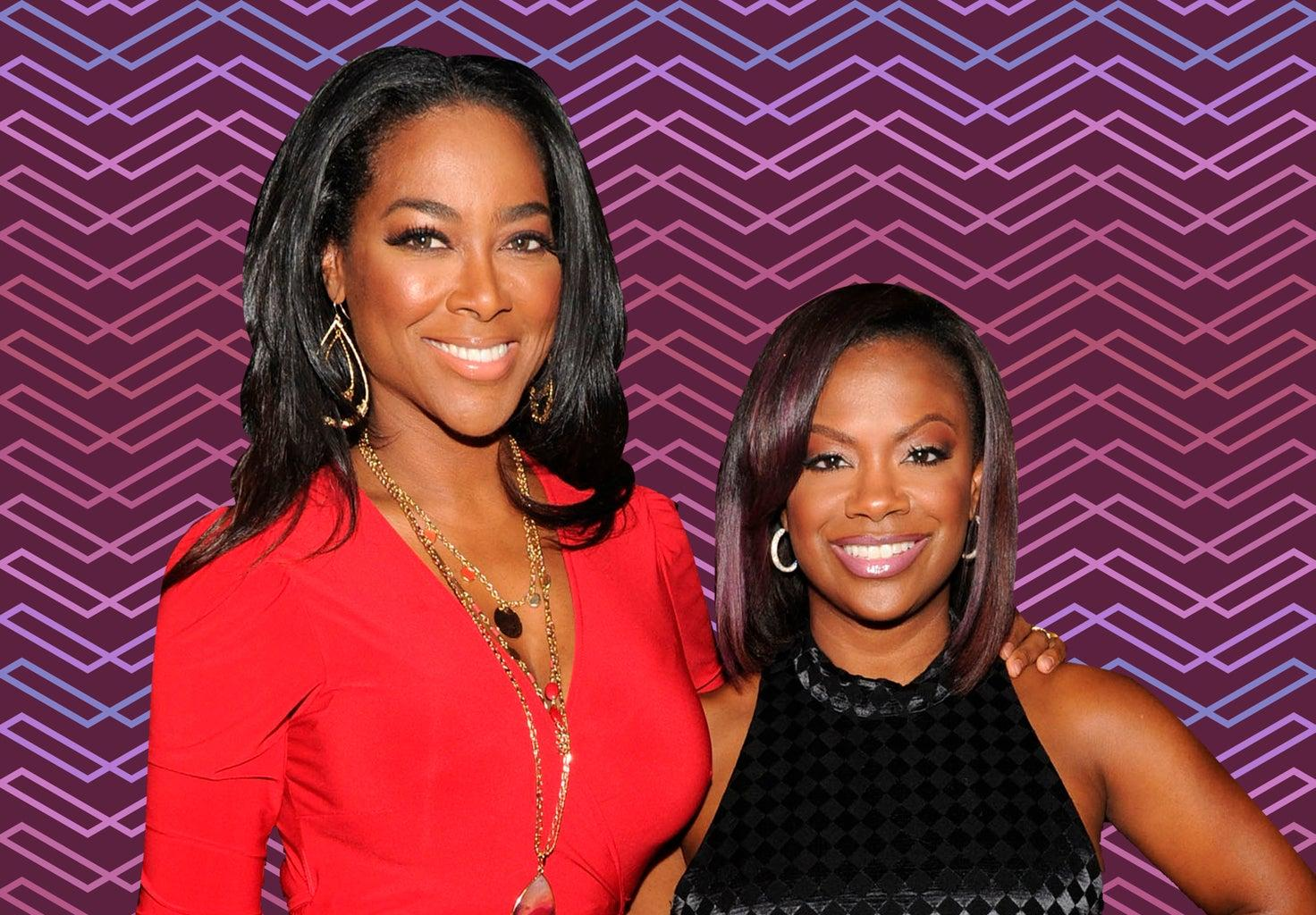 Kandi Burruss Hangs Out With Kenya Moore - Check Out The Gorgeous Ladies