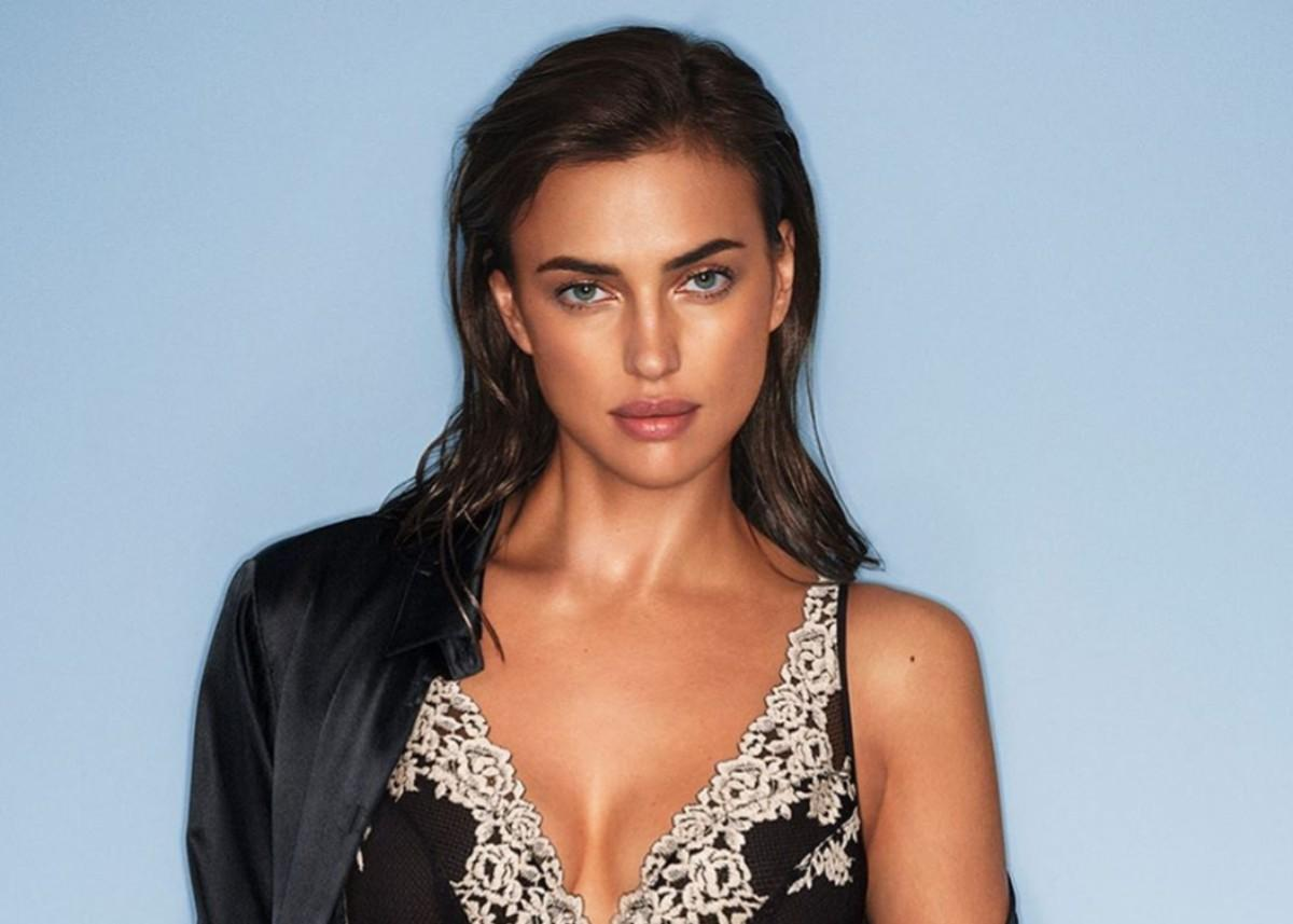 Irina Shayk Is Sensational In Tattooed Dress As She Walks Daughter Lea — See The Photo!