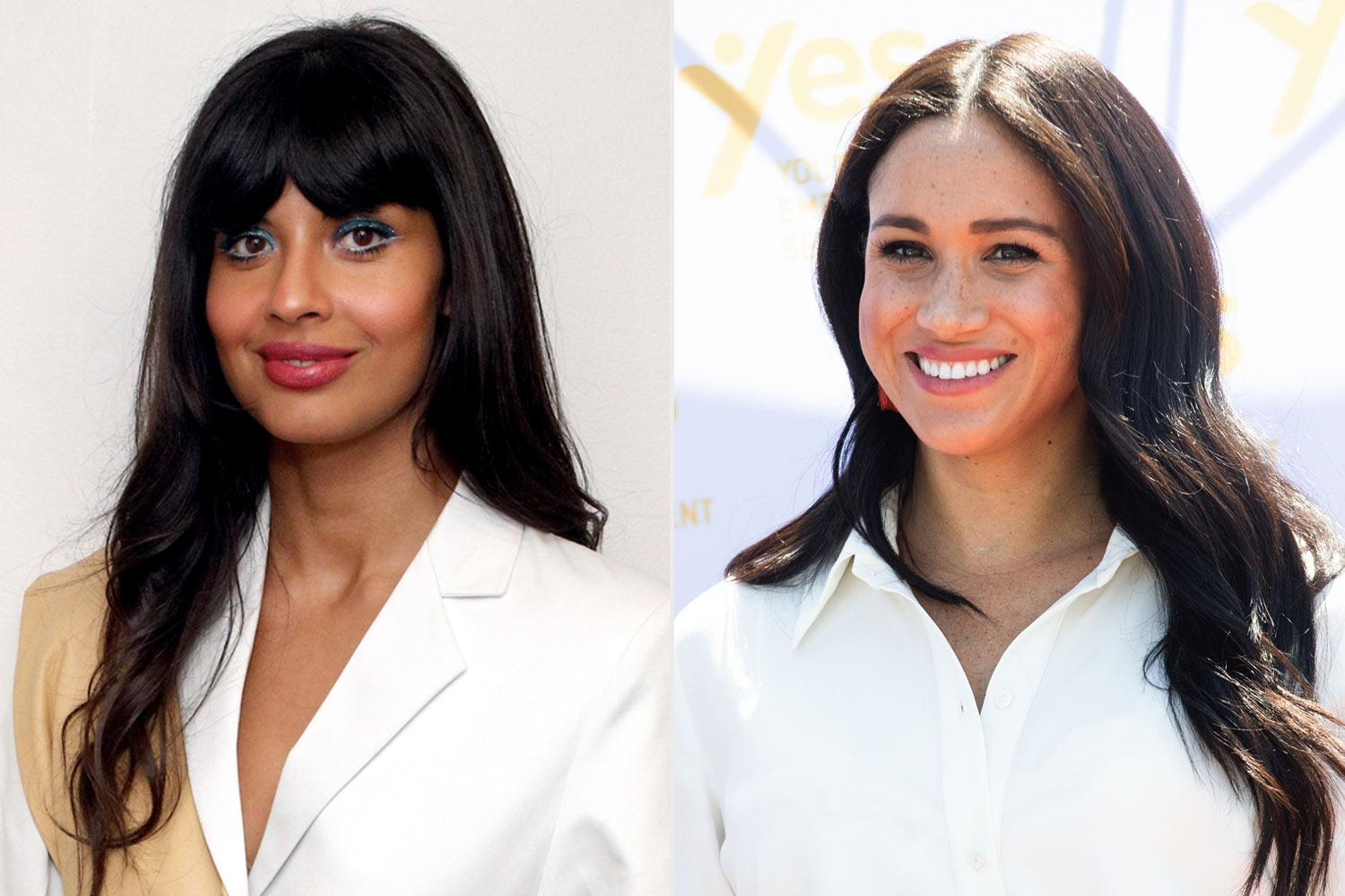 Jameela Jamil Addresses 'Ridiculous' Tabloid Reports That She And Meghan Markle Are In Quarantine Together - 'I've Met This Woman Once Ever!'