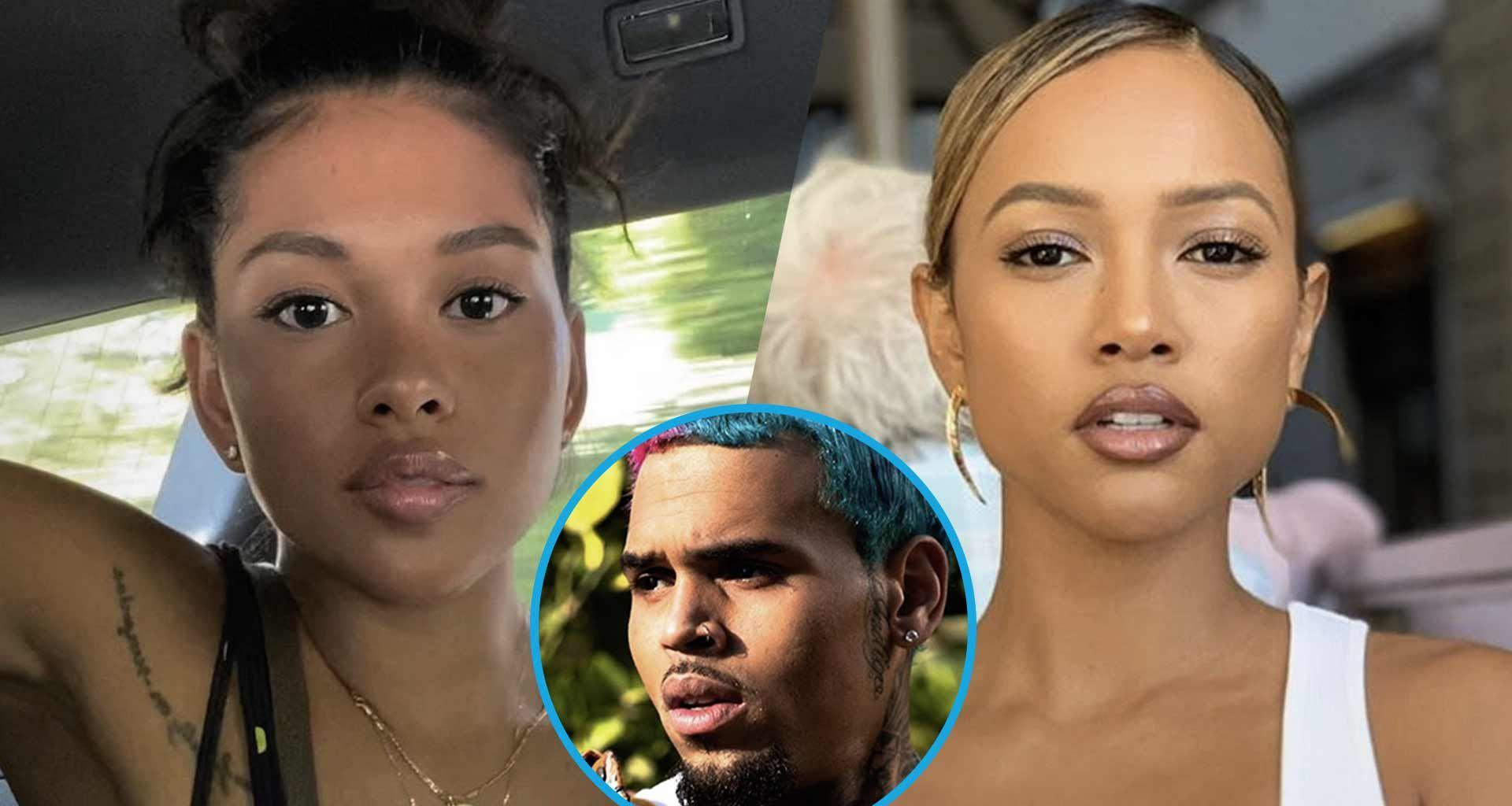 Chris Brown's Baby Mama, Ammika Harris Is Effortlessly Stunning In These Photos - Some Haters Accuse Her Of Copying Karrueche