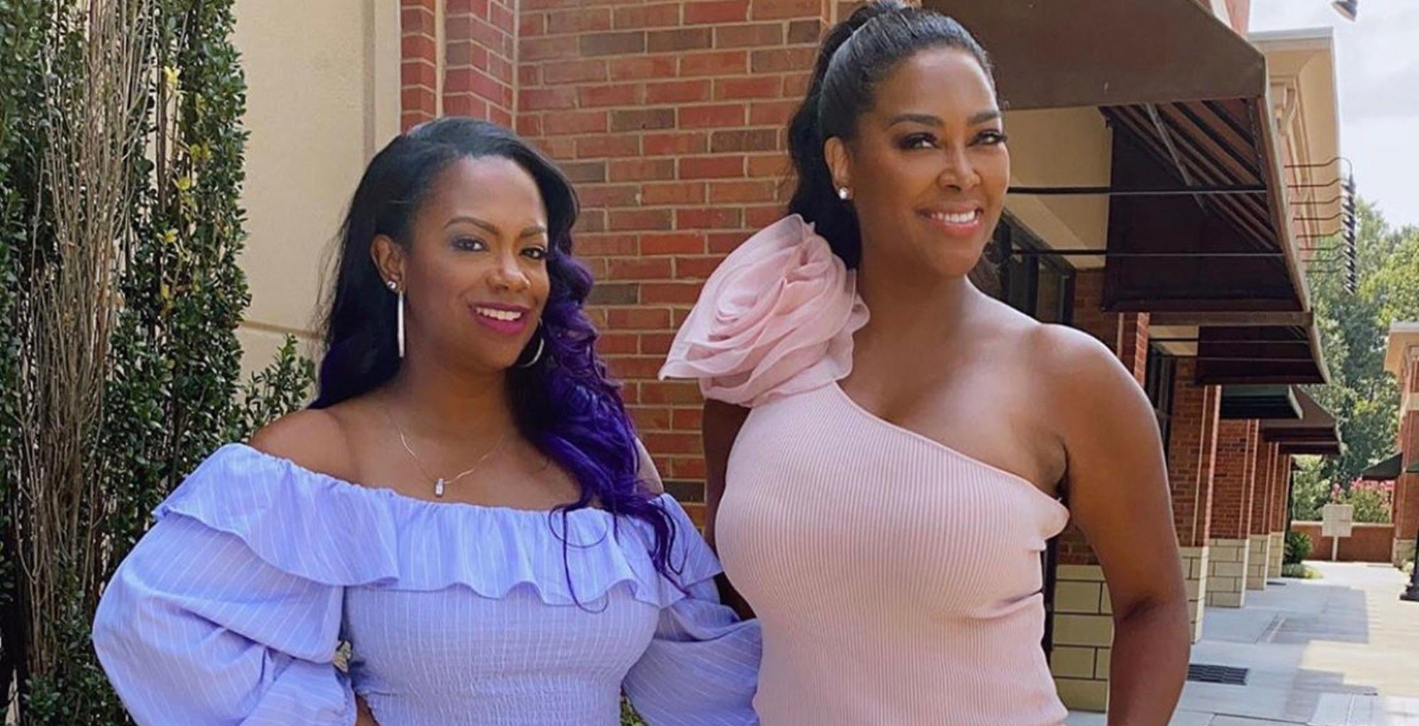 Kandi Burruss And Kenya Moore Have Fierce Bathing Suit Competition In These Photos --  'Real Housewives Of Atlanta' Fans Have A Hard Time Picking The Winner