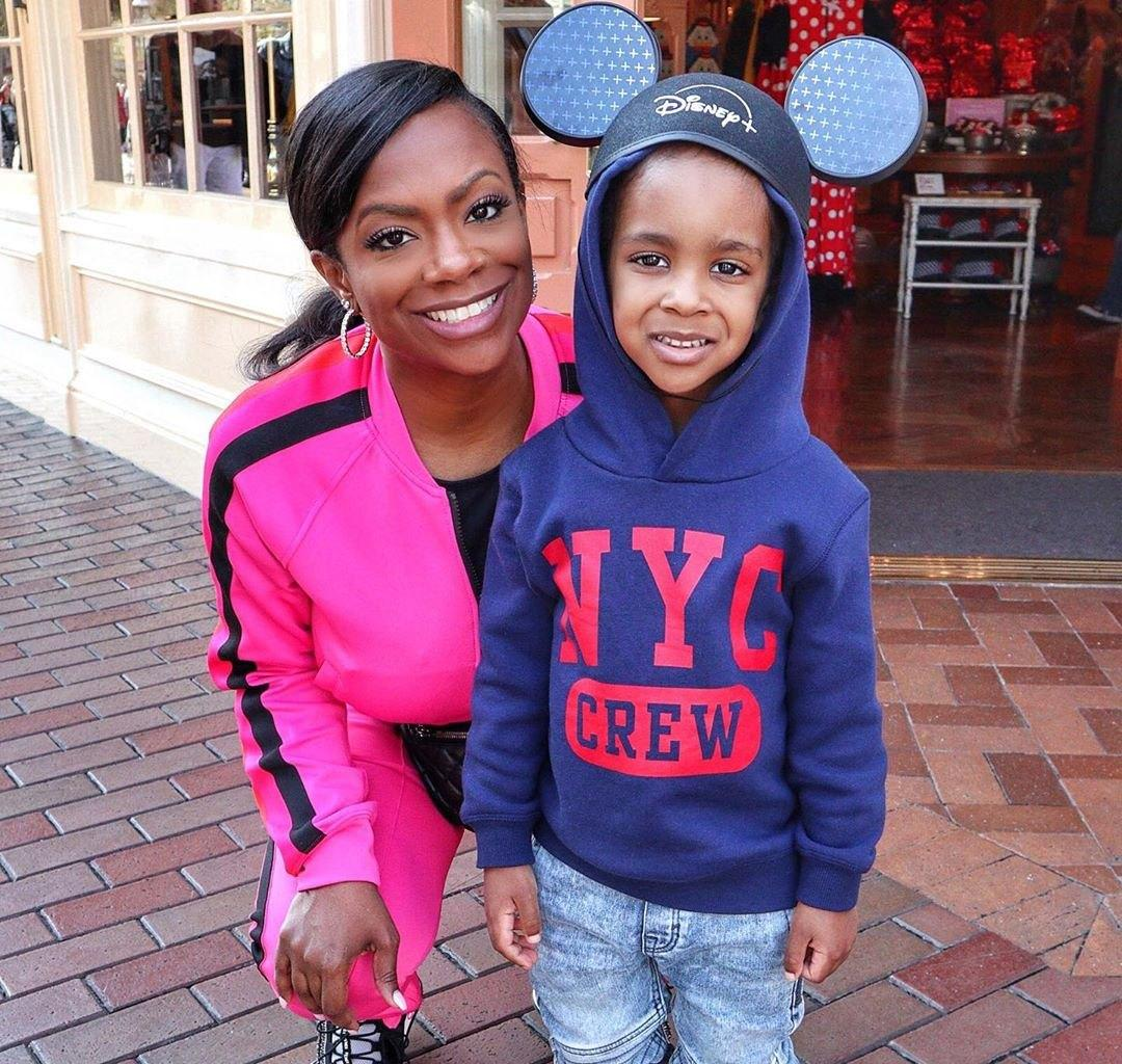 Kandi Burruss Poses With Ace Wells Tucker - See The Photo Here
