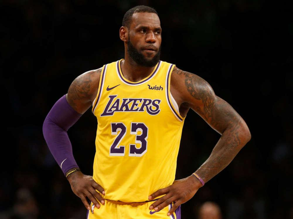 LeBron James Says He Has Never Encouraged Violence Toward Police