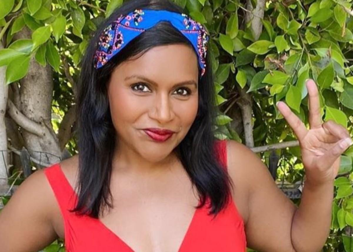 Mindy Kaling Poses In A Series Of Swimsuit Shots — Looks Stunning!