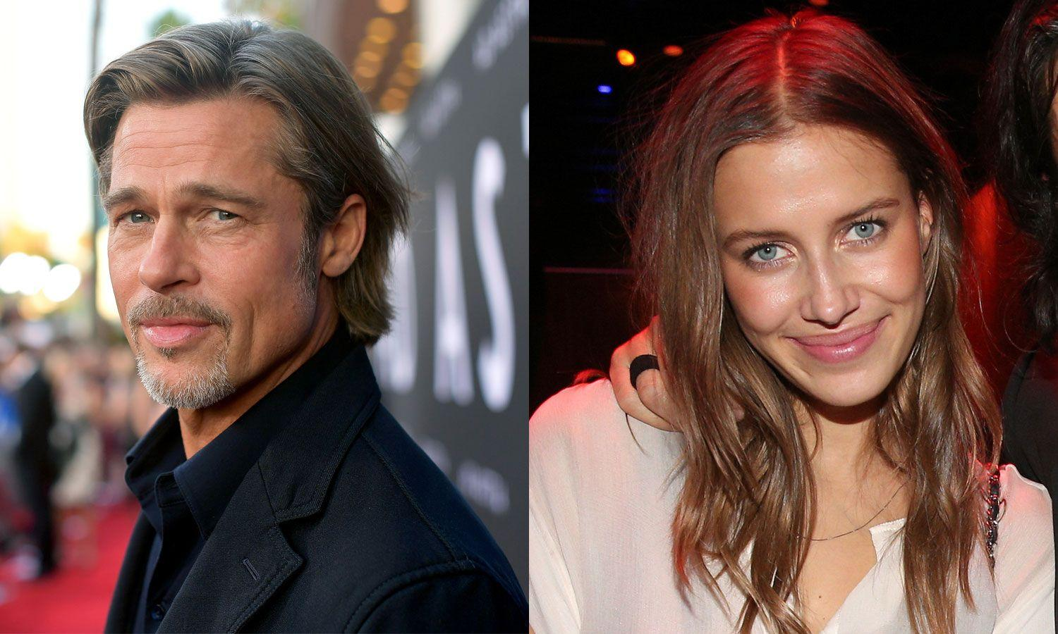 Brad Pitt's Girlfriend Nicole Poturalski Accused Of Hating His Ex Angelina Jolie - Check Out Her Response!